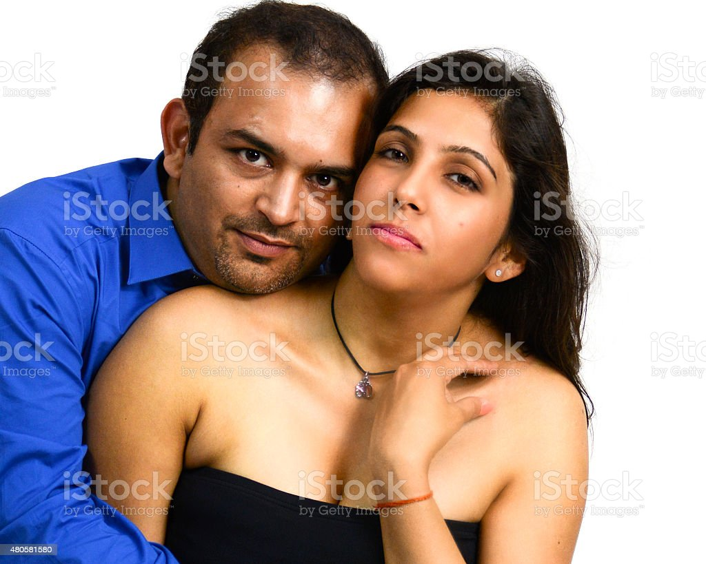 Attractive Young Asian Couple In Love stock photo