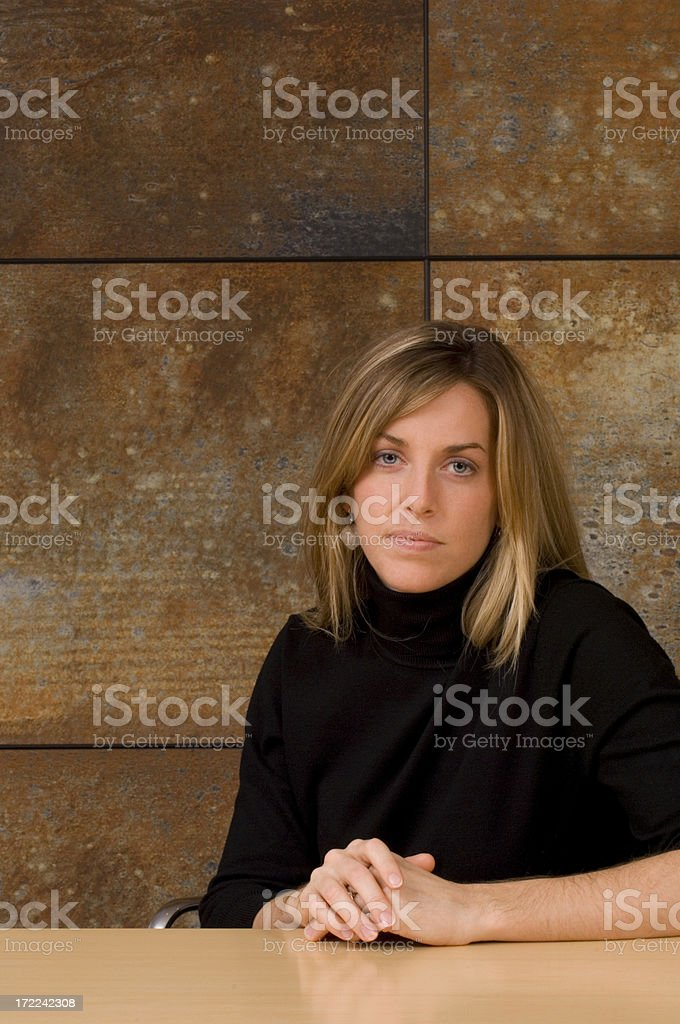 Attractive Young Businesswoman royalty-free stock photo
