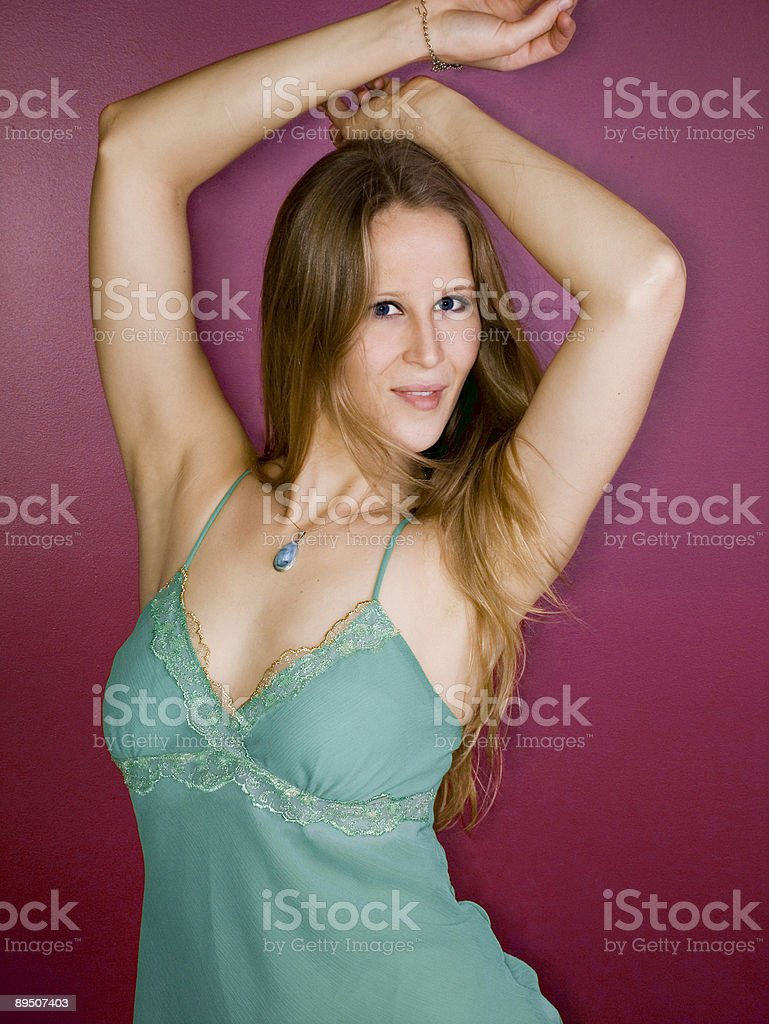 Attractive young dancer royalty-free stock photo