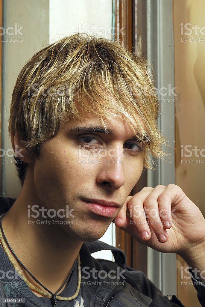 Attractive Young Male royalty-free stock photo