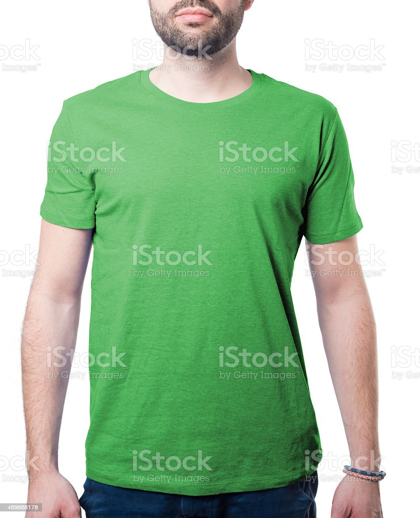 attractive young man cothing template stock photo