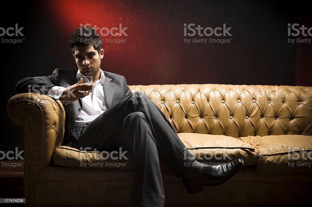 Attractive Young Man stock photo