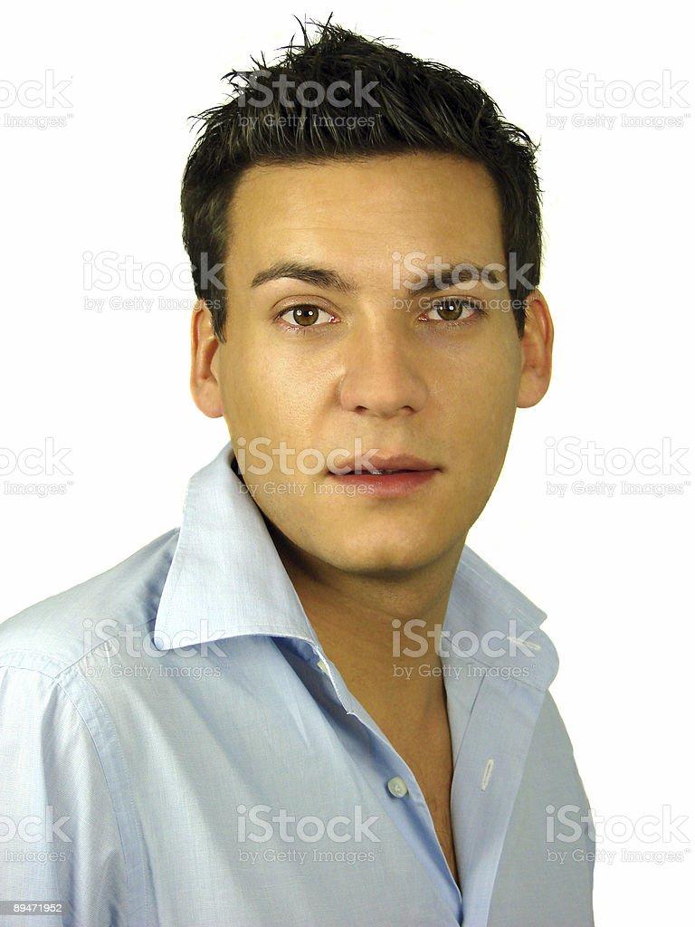 Attractive hombre joven foto de stock libre de derechos