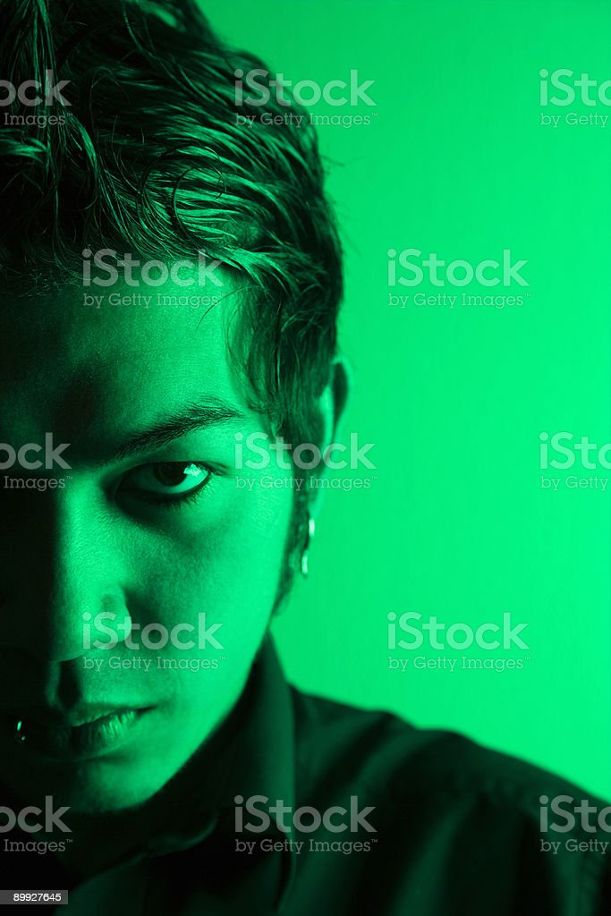 Attractive young man portrait. royalty-free stock photo