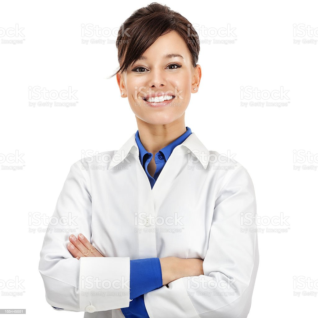 Attractive Young Medical Worker stock photo