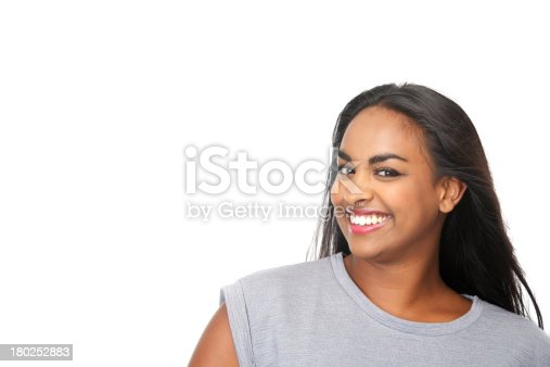 629077968istockphoto Attractive young woman smiling 180252883