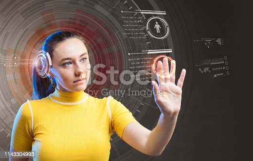 872670540 istock photo Attractive young woman using new technologies 1143304993