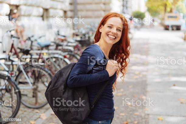 Attractive young woman wearing a backpack picture id1071327354?b=1&k=6&m=1071327354&s=612x612&h=ofb1robyvhq2ipw0fk5ztf5b vc1wwzy3tphduvxh9u=