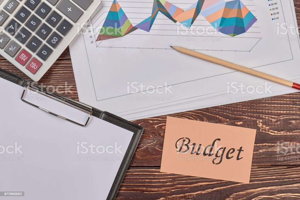 Attributes for finance and acoount. stock photo