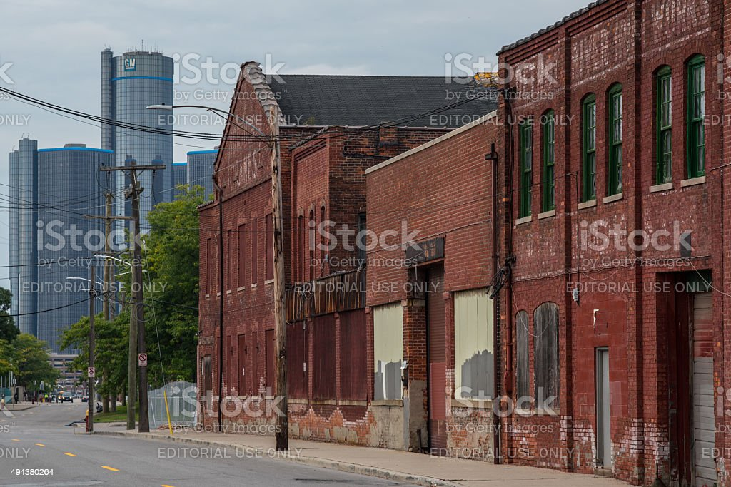 Atwater Street stock photo