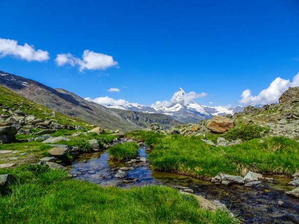 Au pied du Mont Cervin - Photo