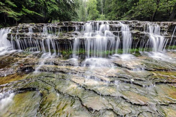 Au Train Falls in the Upper Peninsula of Michigan