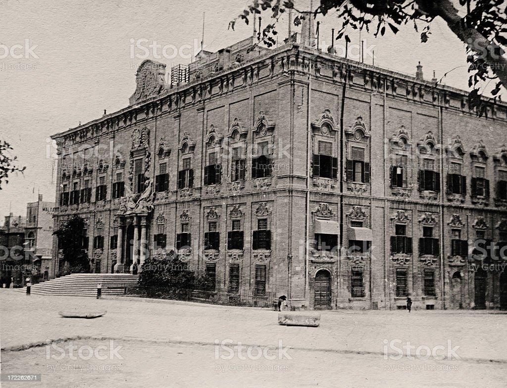 Auberge de Castille royalty-free stock photo
