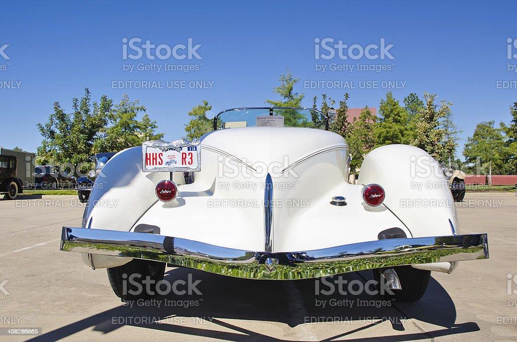 Auburn 1935 Model 851 Boat Tail stock photo