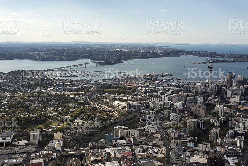 Auckland Aerial stock photo