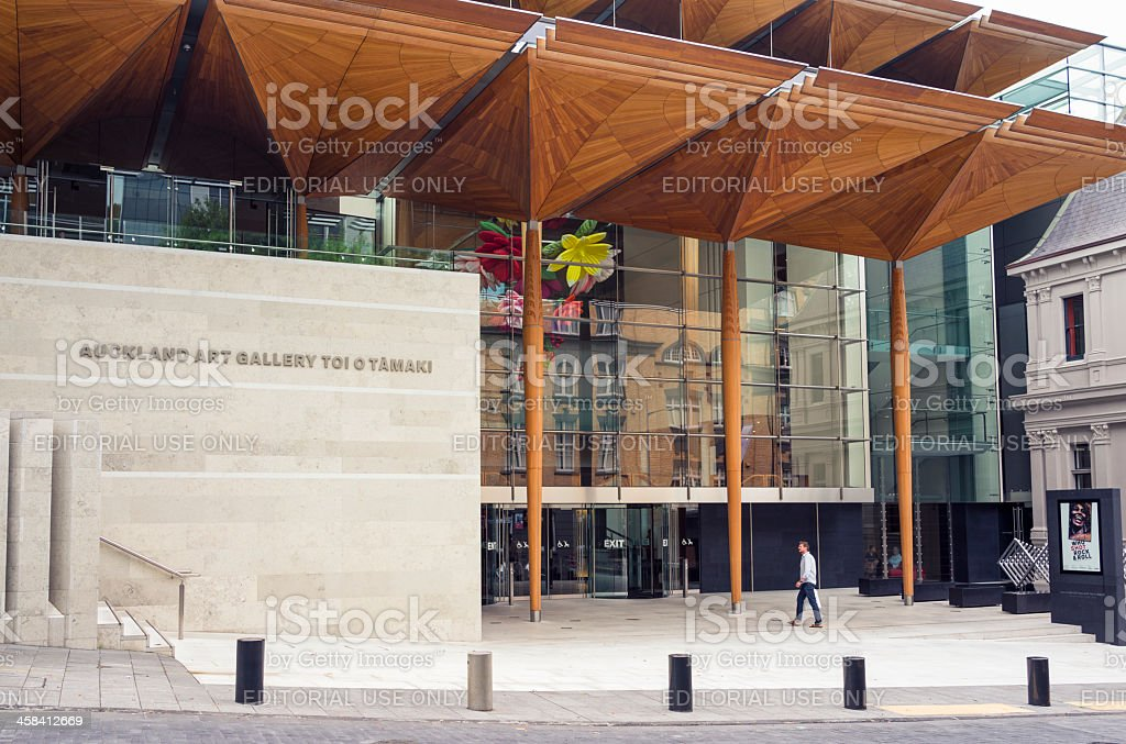 Auckland Art Gallery or Toi o Tāmaki royalty-free stock photo