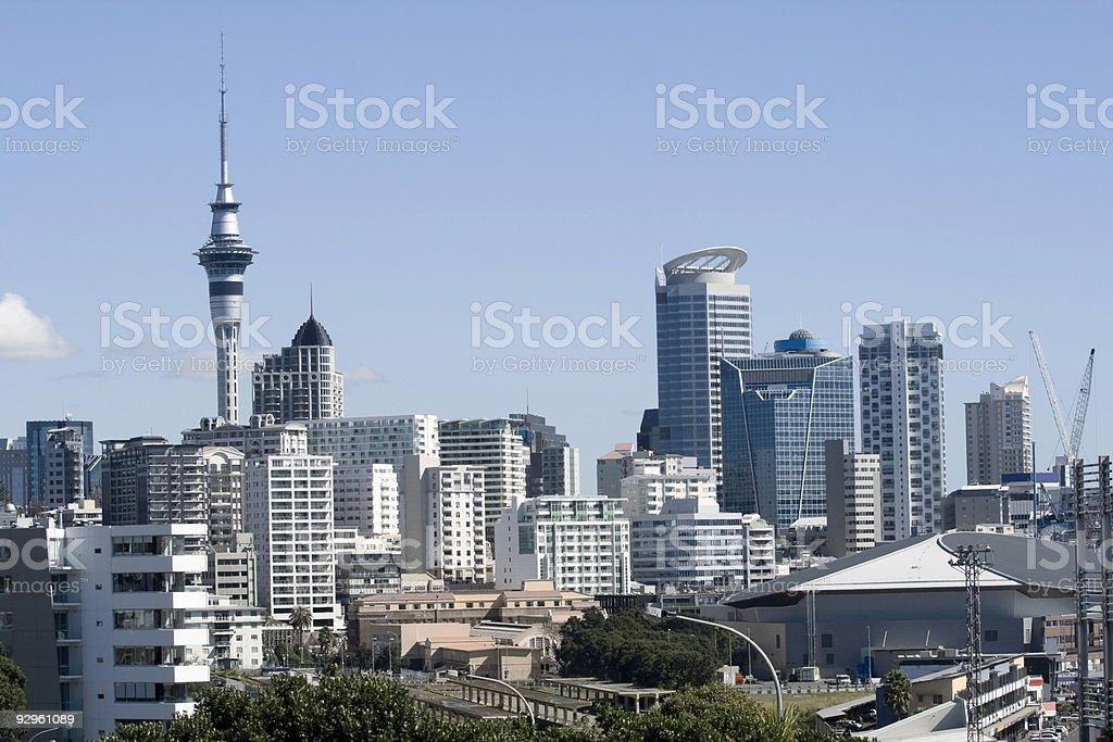 Auckland City CBD royalty-free stock photo