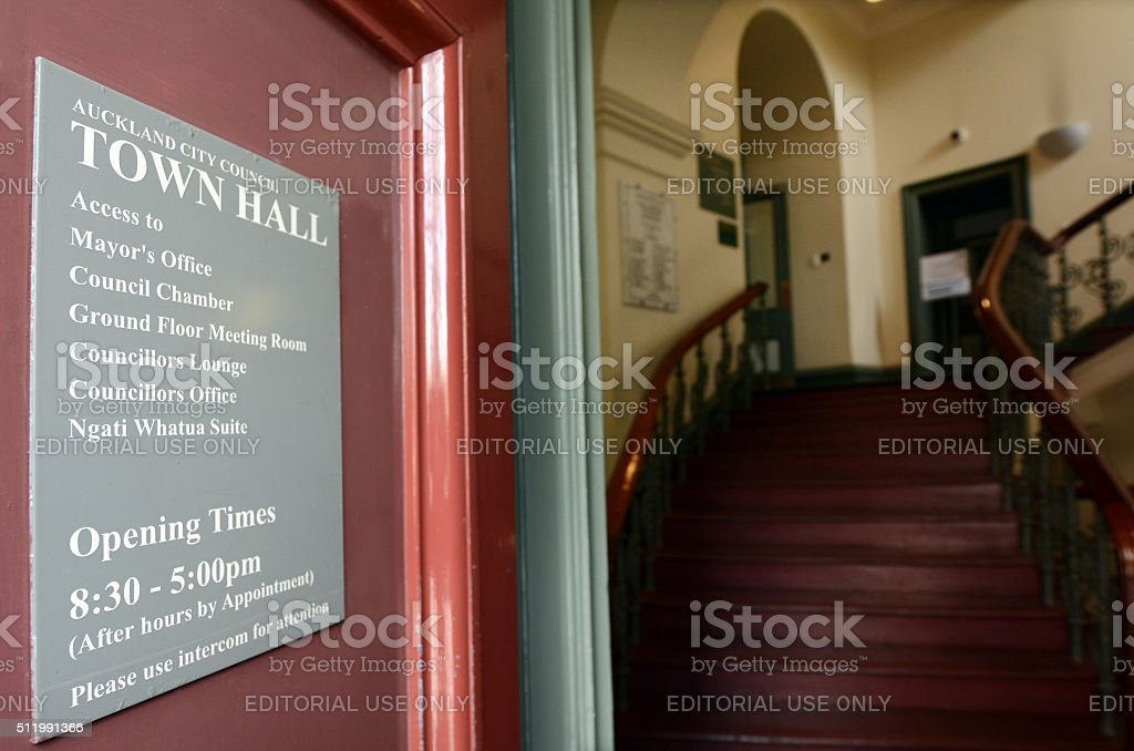Auckland city council town hall - New Zealand