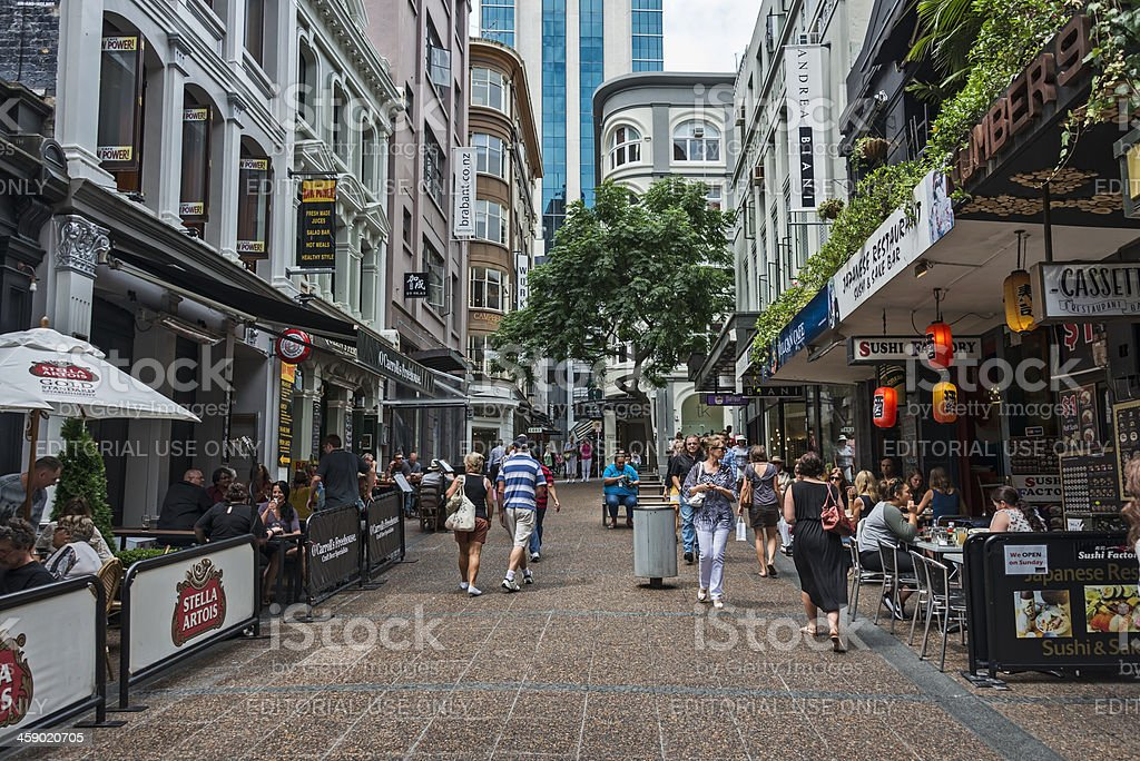 Auckland City Life stock photo
