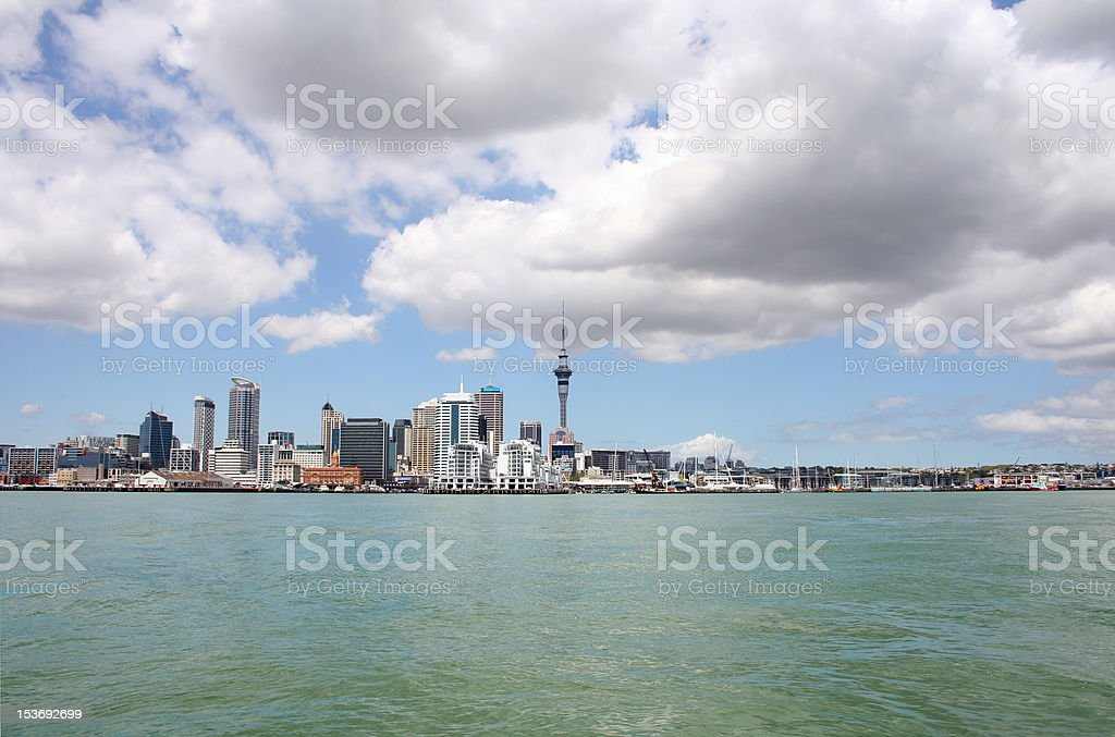Auckland City, New Zealand by day 3 royalty-free stock photo