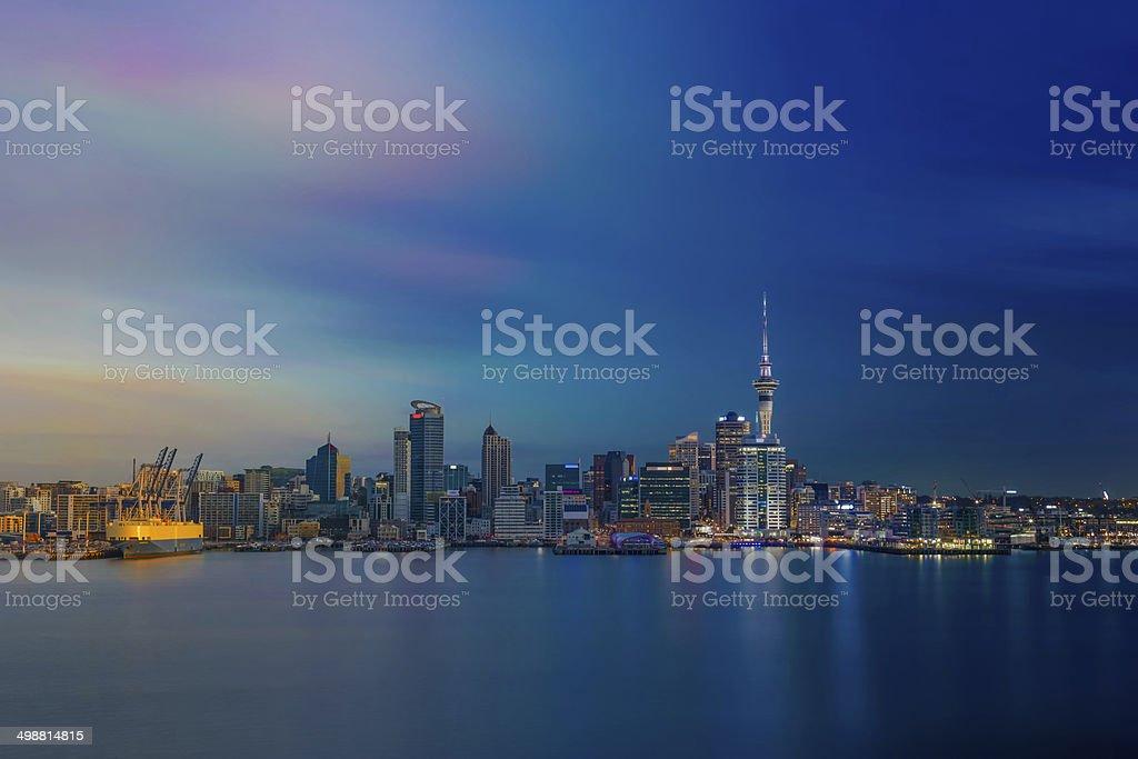 Auckland City royalty-free stock photo