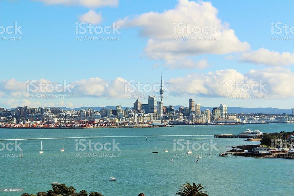 Auckland City View stock photo