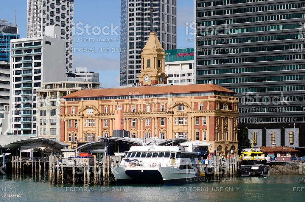 Auckland Ferry Terminal stock photo