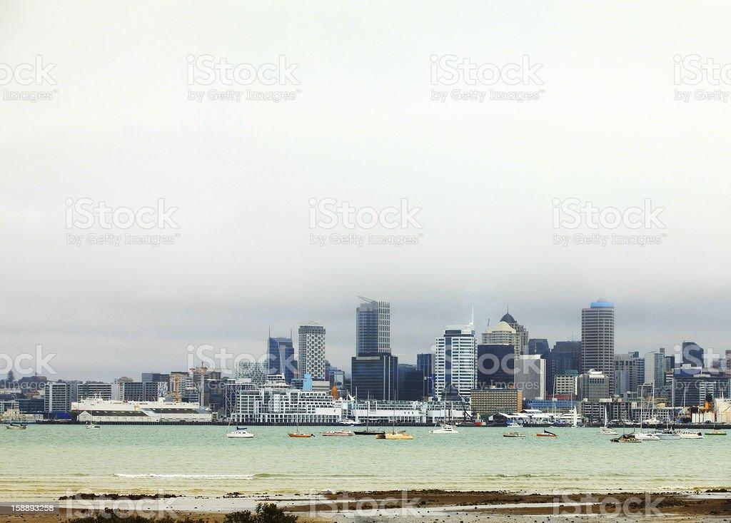 Auckland, New Zealand royalty-free stock photo