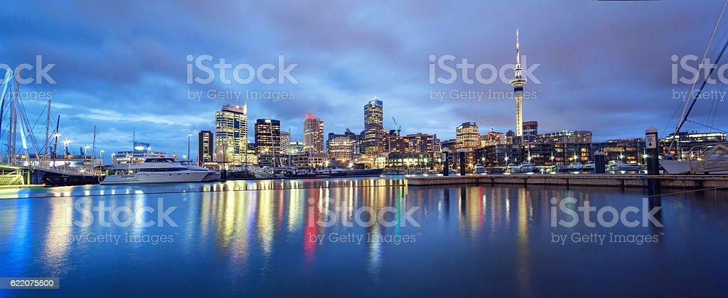 Auckland Panorama. stock photo