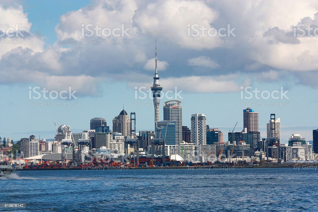 Auckland stock photo