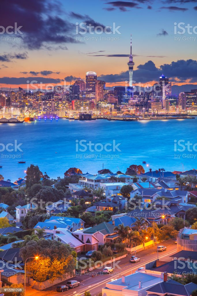 Auckland. stock photo