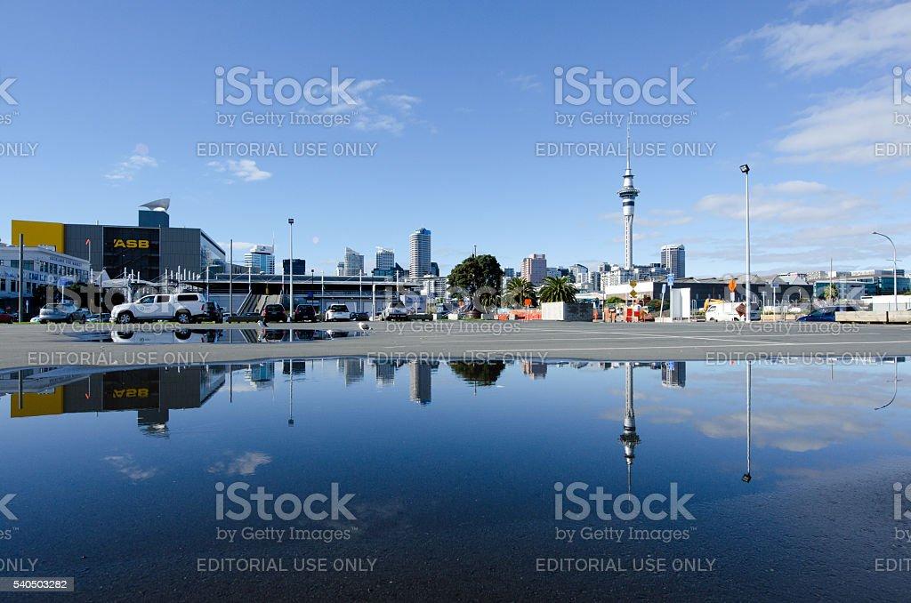Auckland Skyline stock photo