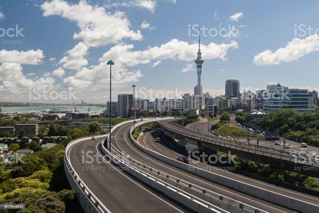 Auckland Skyline foto
