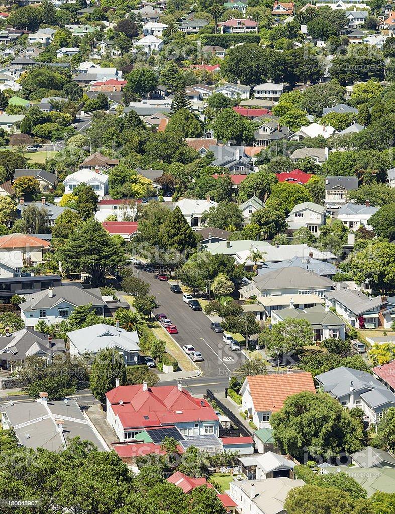 Auckland Suburbs stock photo
