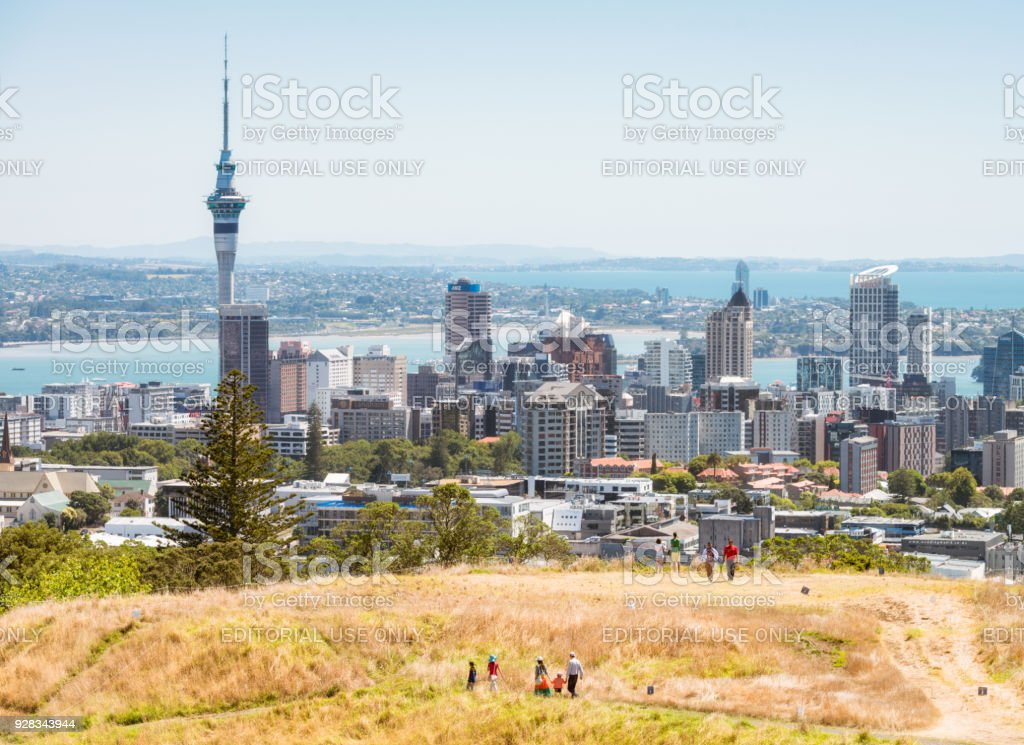 Auckland view from mount eden stock photo more pictures of above auckland view from mount eden royalty free stock photo reheart