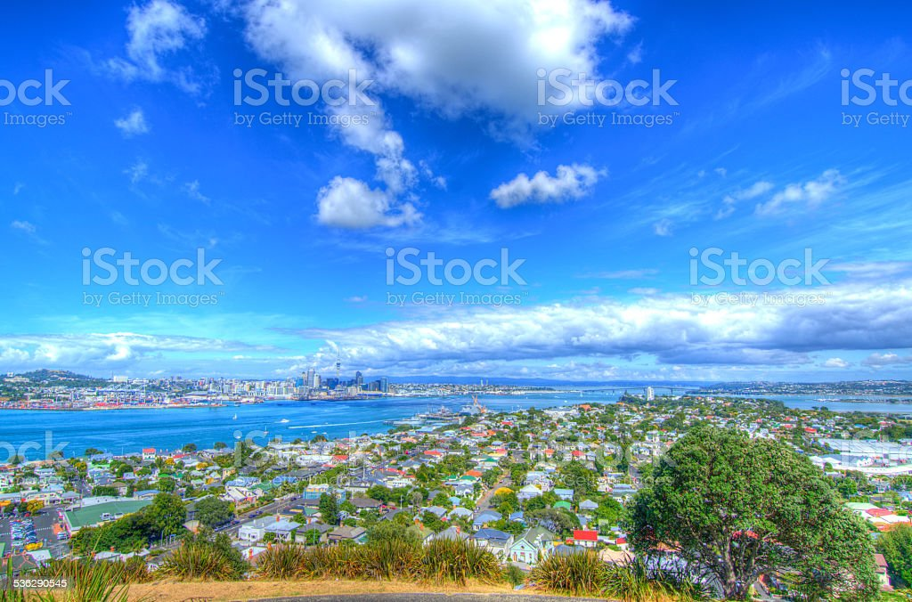 Auckland's Charm stock photo