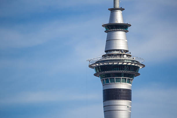 Auckland's Sky Tower stock photo