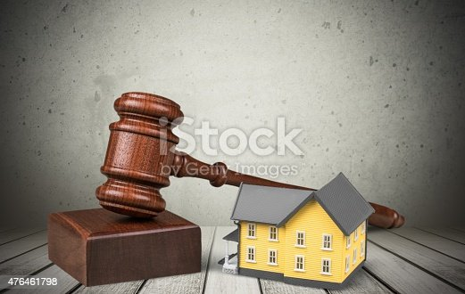 istock Auction, Law, House 476461798