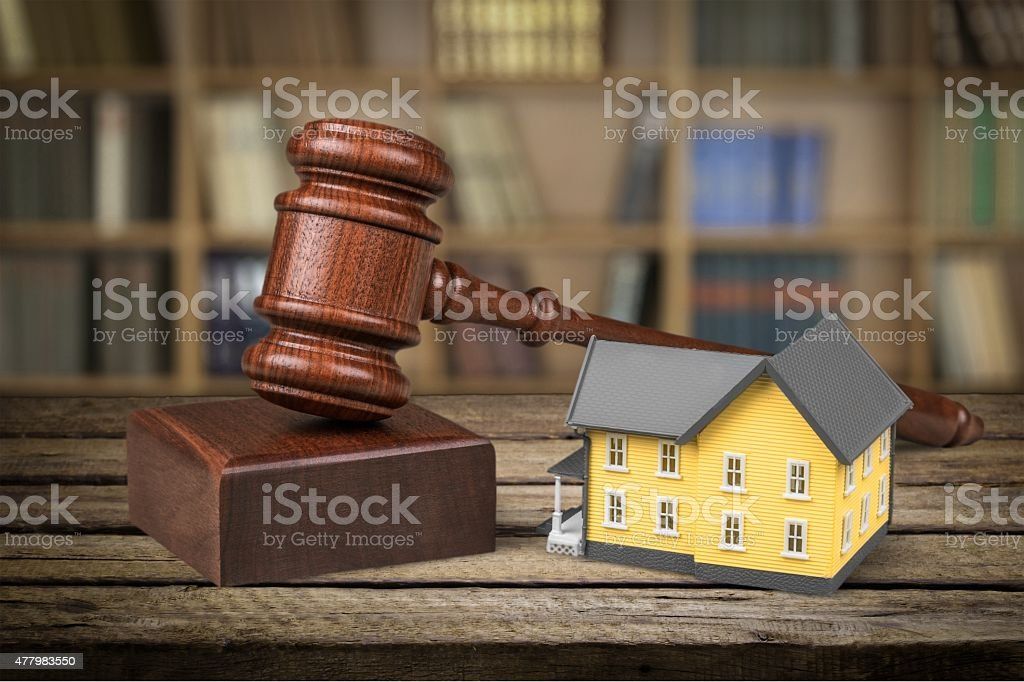 Auction, Law, House stock photo