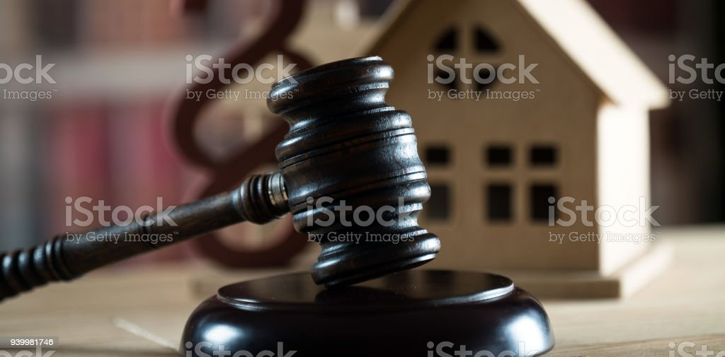 Auction, Law, House. stock photo