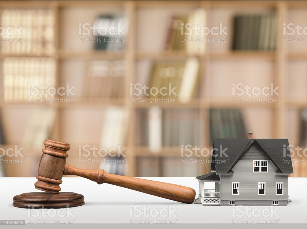 Auction stock photo
