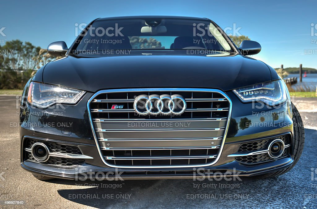 Audi 6 Series 2 stock photo