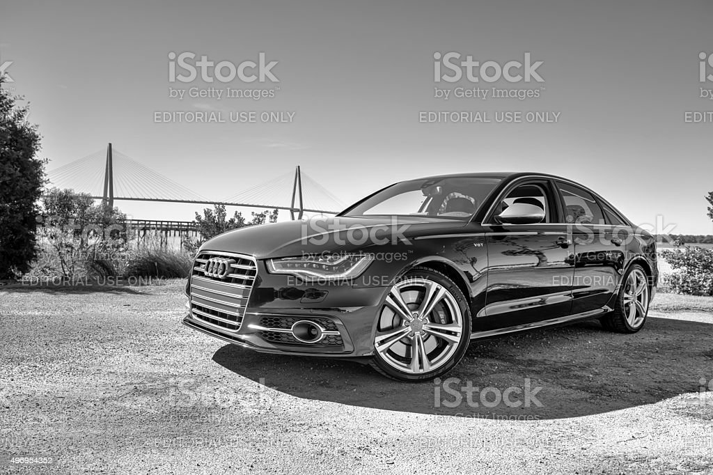 Audi 6 Series 4 stock photo