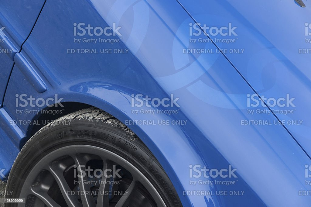 Audi 90 Quattro royalty-free stock photo