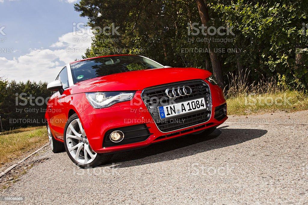 Audi A1 stock photo