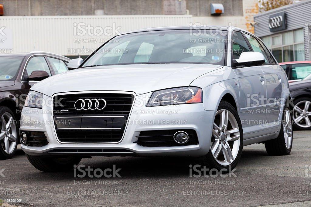 Audi A3 stock photo