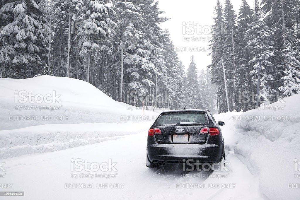 Audi A3 Quattro Winter. foto