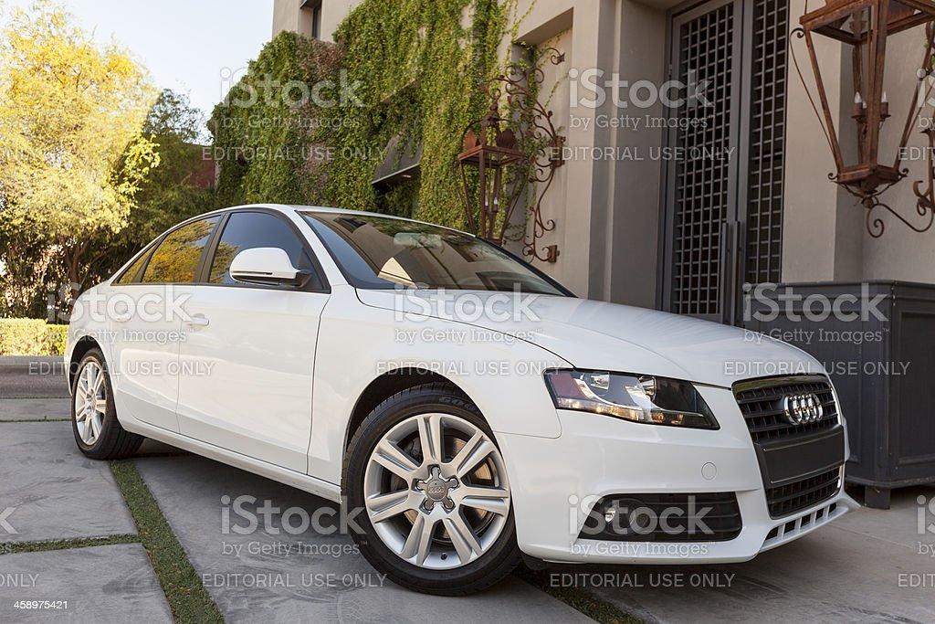 Audi A4 2009 stock photo