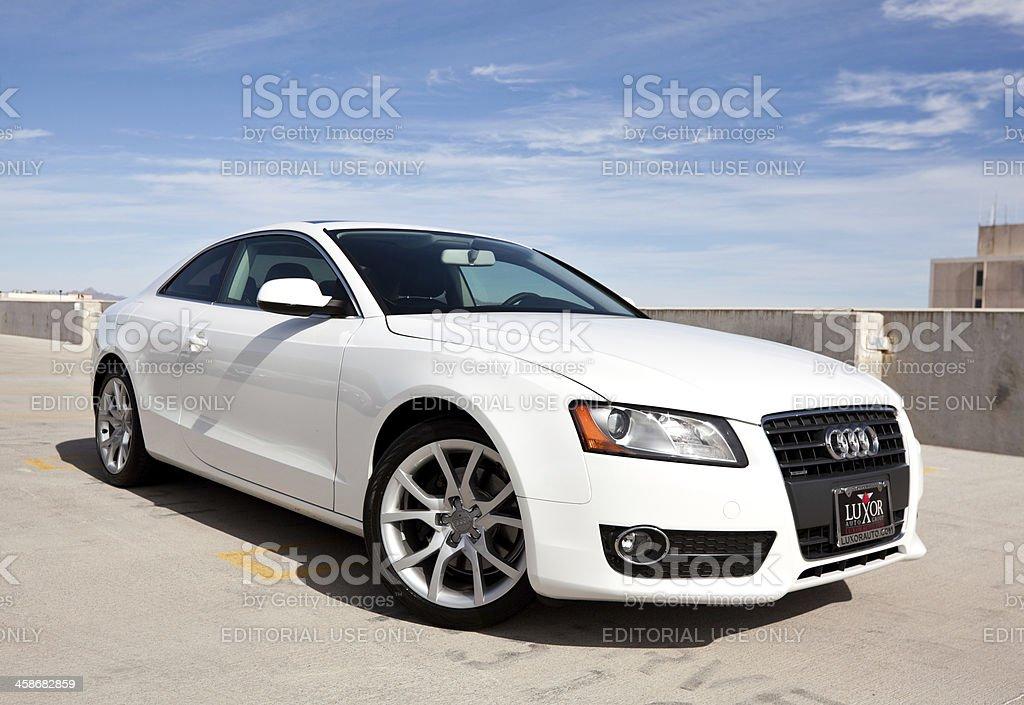 Audi A5 2010 stock photo