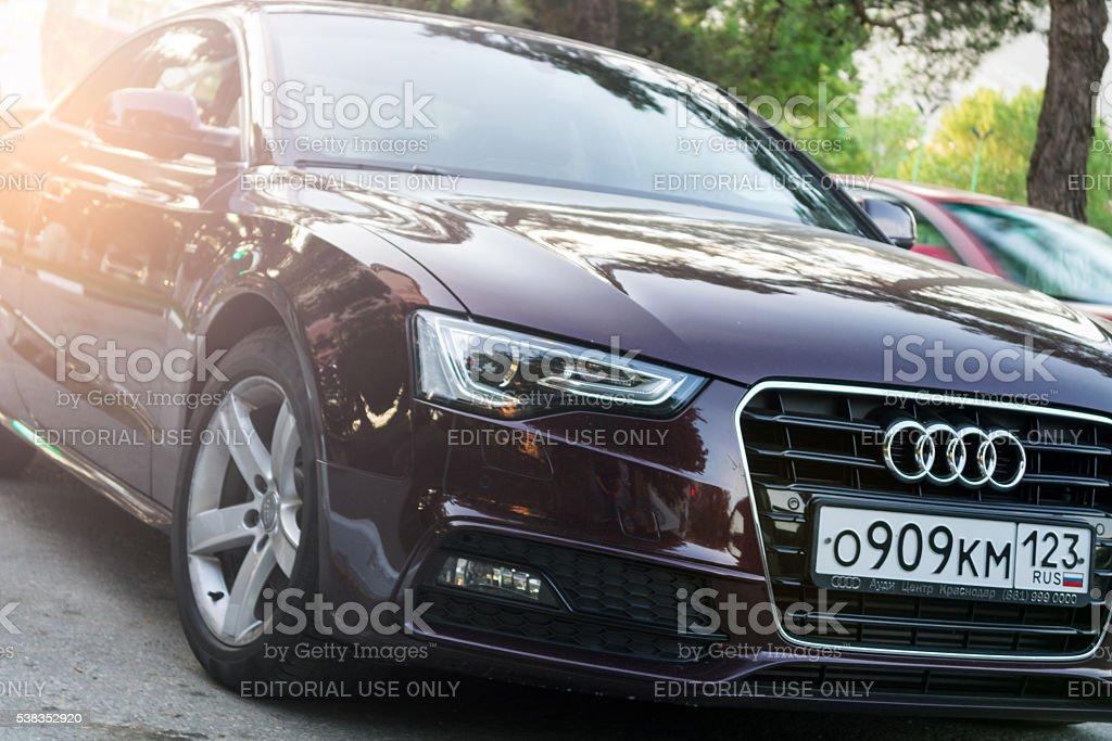 Audi A5 stock photo